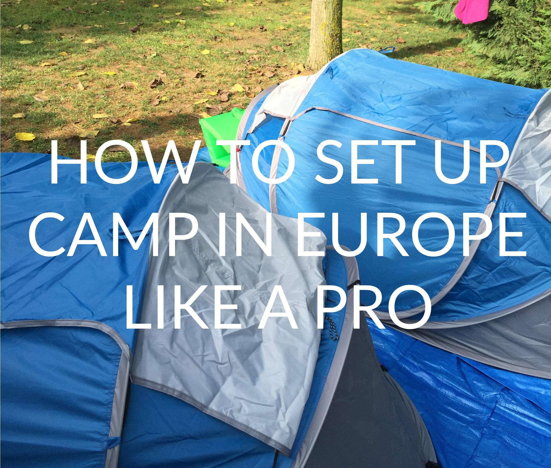Camp in Europe