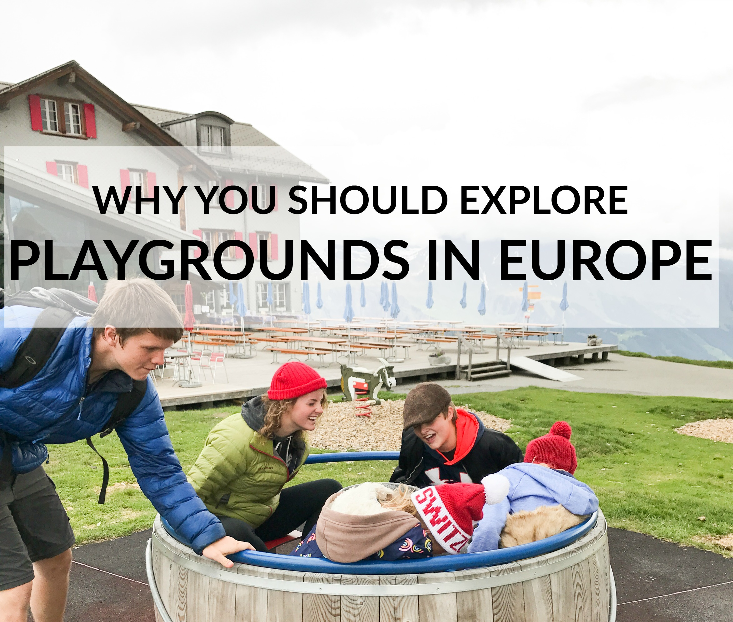Playgrounds in Europe